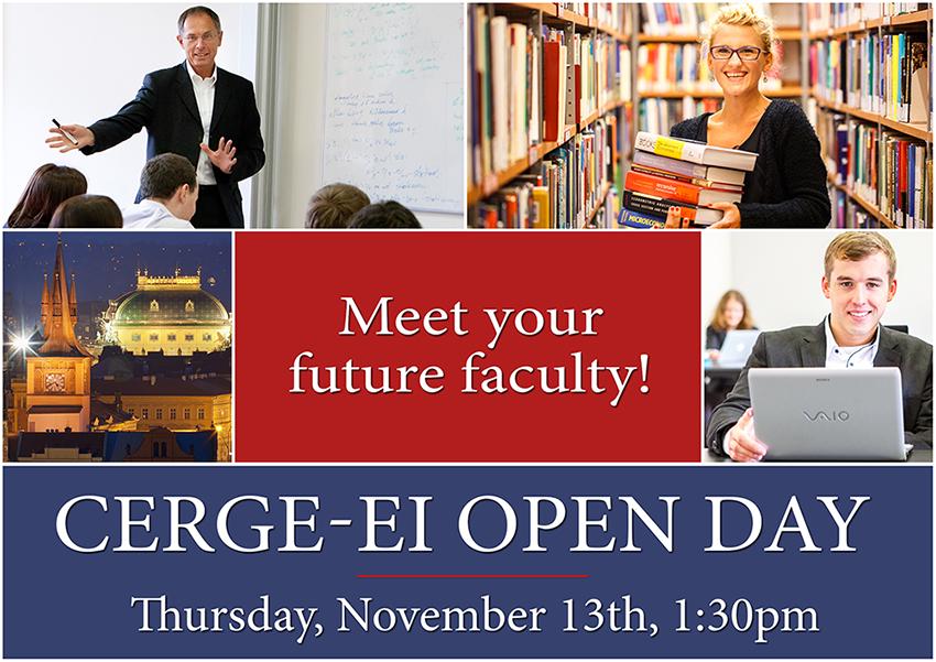 CERGE-EI Open Day