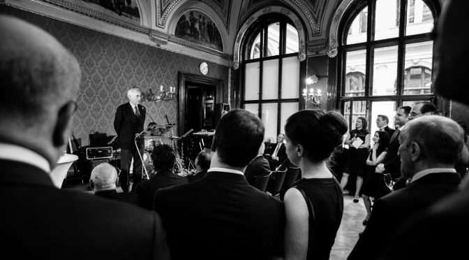 A Night of Gaiety for 25 Years of Satisfaction: CERGE-EI 25th Anniversary Gala