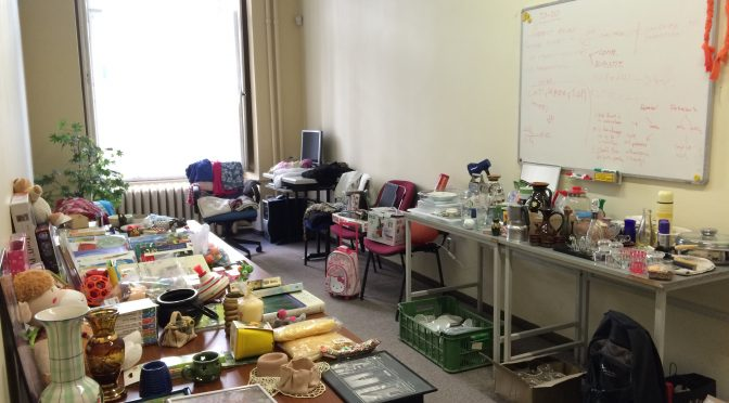 "First International Bazaar at CERGE-EI: ""Reuse"" concept in practice"