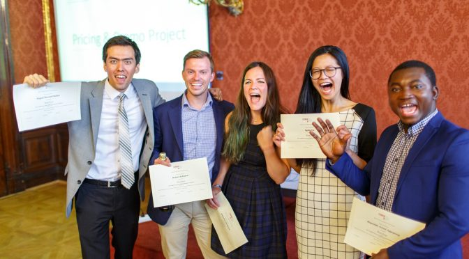 MAE 2017 Cohort Showcases Results of Project Seminar